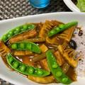 時短で筍とベーコンのカレー♪ by watakoさん