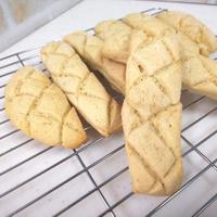 おうちパン「メロンスティックパン」を作った