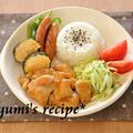 休日のランチ☆鶏の照り焼きランチプレートと、作りおき節約レシピ掲載のお知らせ