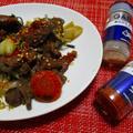 家庭で作る松尾のジンギスカンにギャバンスパイス【あらびきチリペパー】【あらびきガーリック】