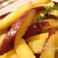 子供が大好き☆さつま芋の塩バター炒め