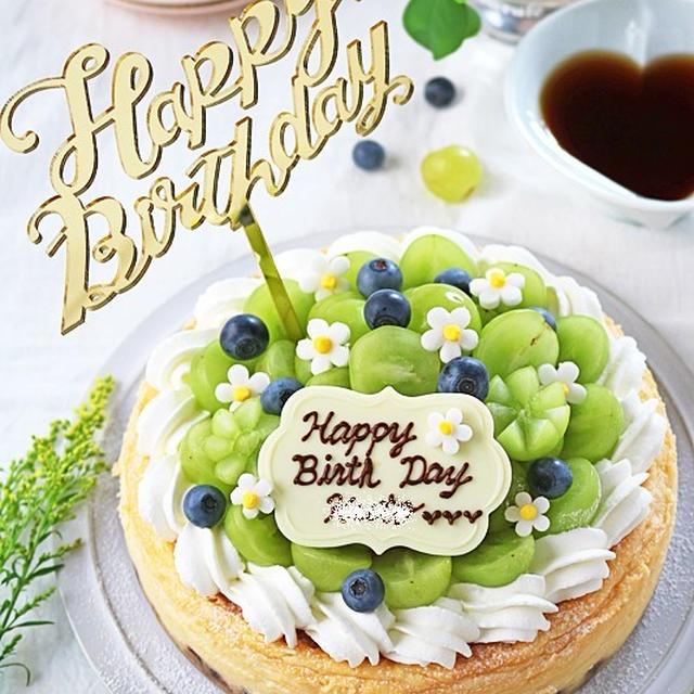 息子の誕生日ケーキ濃厚NYチーズケーキ!誕生日を盛り上げるケーキ飾り