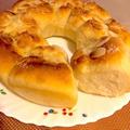 アーモンドプードル入りバターシュガーちぎりパン♡