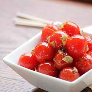 ひと手間プラスで旨レシピ!たっぷり作り置きしたい「プチトマト」アレンジ術