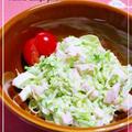 ★サラダチキンと春キャベツのコールスロー★ by みみこさん