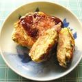 キャベツと豆腐のお好み焼き風