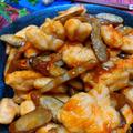 材料2つ!簡単節約!鶏胸肉とごぼうの甘辛焼き