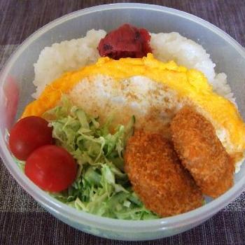 卵畳焼き弁当
