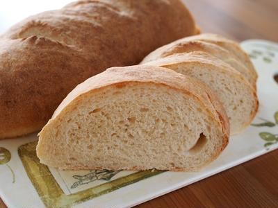 地中海風もっちりパン「フランジャラ」。
