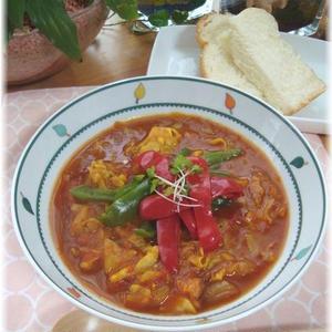 ガラムマサラで本格的☆野菜カレー