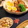 簡単!鶏肉とゆで卵のニンニクしょうゆ煮他 by shoko♪さん