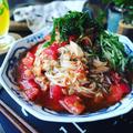 ひんやり麺レシピ色々~とひんやりつるつるとまらない❤️汁まで飲み干すツナトマトぶっかけそうめん♪