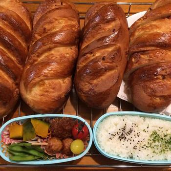 2019年7月20日(土) 1人分のお弁当と今日のパン(オレンジパン)