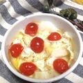 ワインのおつまみに☆超簡単♪♪長芋とミニトマトのチーズ焼き