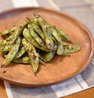 花山椒風味 焼き枝豆