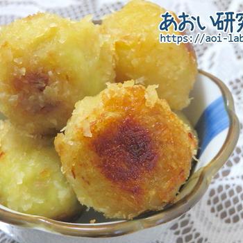 料理日記 76 / さつまいものココナッツボール(砂糖・卵・小麦粉・牛乳不使用)