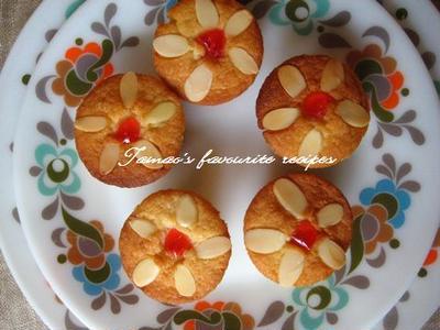 かわいい♪お花のカップケーキ!
