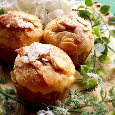 Wアーモンドパン 2 『フロランタンパン』
