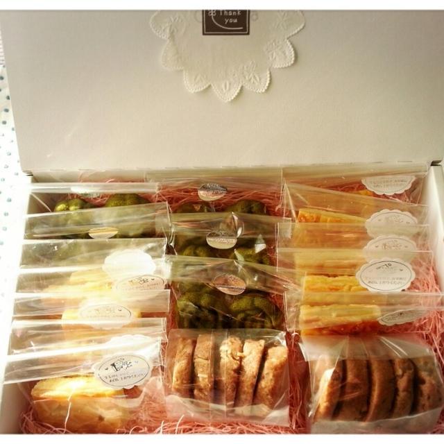 ありがとう~の心を込めて♡食べて食べて押しつけ焼き菓子の続きです(* ̄∇ ̄*)