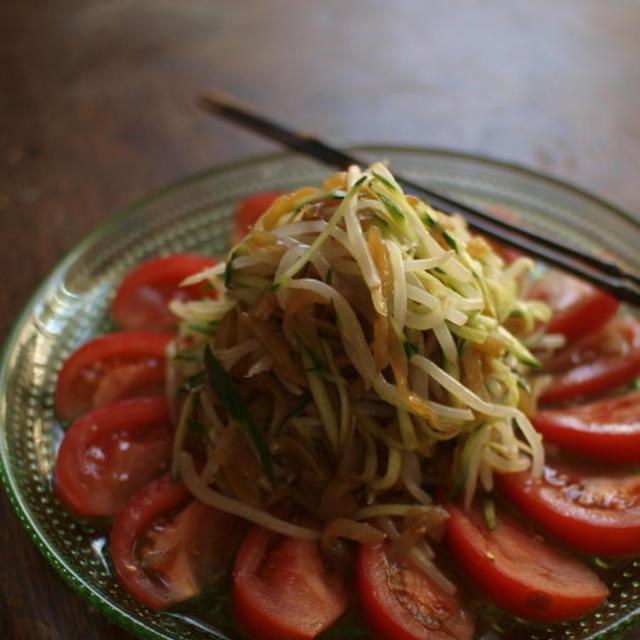 海月中華サラダ。