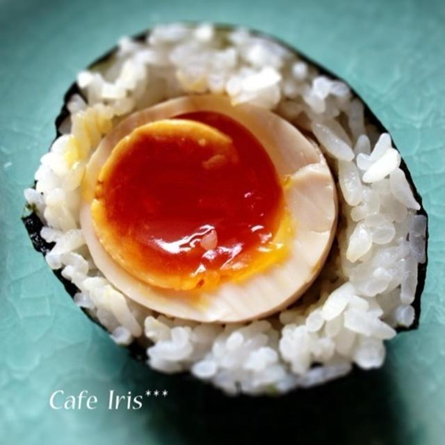 ☆絶品・煮卵むすび☆