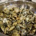 GW潮干狩りで採ったあさりを3品を料理してみた(ボンゴレ、酒蒸、卵とじ)