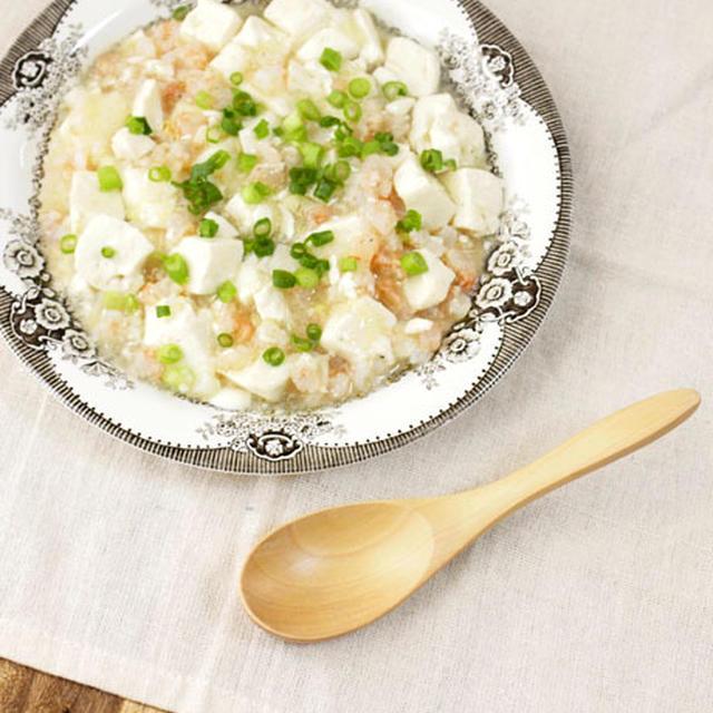 えびのあっさり白だしマーボー豆腐