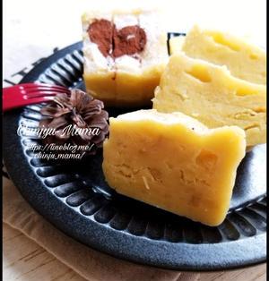 【レンジDE】しっとり濃厚♡スイートポテトケーキ