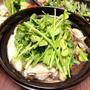 『せり鍋・茄子とピーマンの味噌炒め』作ってみたぁ~。By yu→