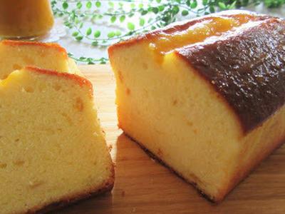 ハンドミキサーで混ぜるだけ簡単♡梅ジャムパウンドケーキ/たまには夫のお弁当/くらしのアンテナ掲載感謝です。