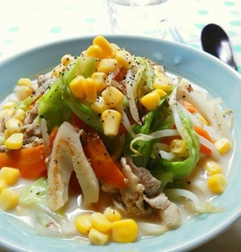 野菜がたっぷり!絶品ちゃんぽん麺レシピ