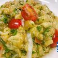 [焼きナスを使ったギリシャの冷製サラダ] 〜メリジャノサラタ〜