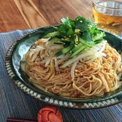 ピリ辛ガーリック和え麺