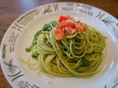 スパゲティ ジェノベーゼ