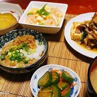 のっけてジュレで簡単♪ サラスパ〜レモン&バジル風味〜