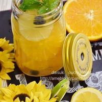柑橘いっぱい&ブルーベーリーのビネガーウォーター