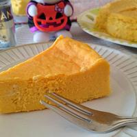 〈スパイスモニター〉水切りヨーグルトで☆パンプキンチーズケーキ♪