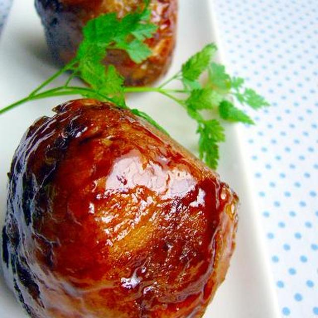 肉爆弾!豚ポテトマト巻き