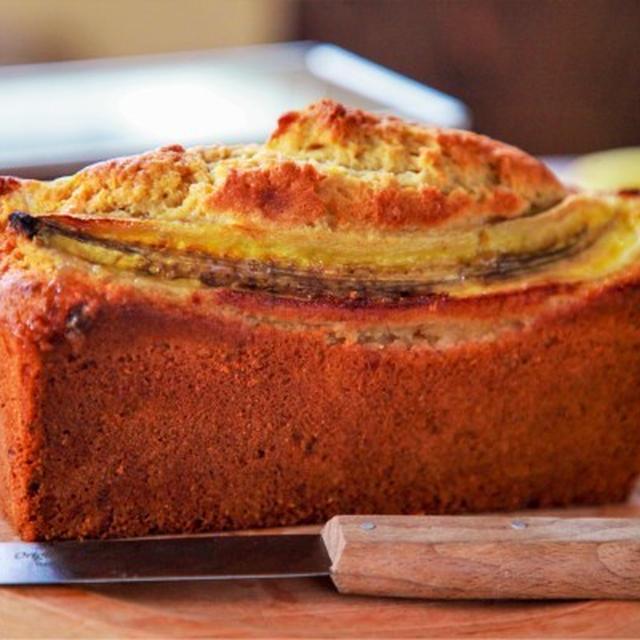 《レシピ動画》ホットケーキミックスで!バナナパウンドケーキ【#簡単レシピ#混ぜて焼くだけ#YouTube】