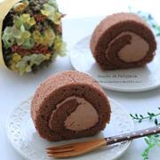 ダブルショコラロールケーキ
