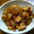 冬瓜と海老の煮物♪