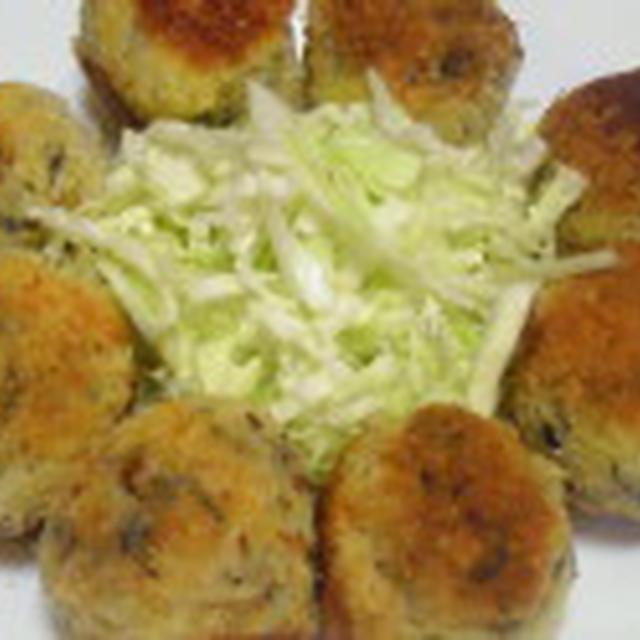 キレイにやせるLOVEレシピ♪ひき肉を使わない~カリッとひじきとチーズコロッケ~