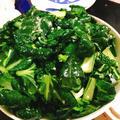 小松菜の玉ねぎ麹サラダ