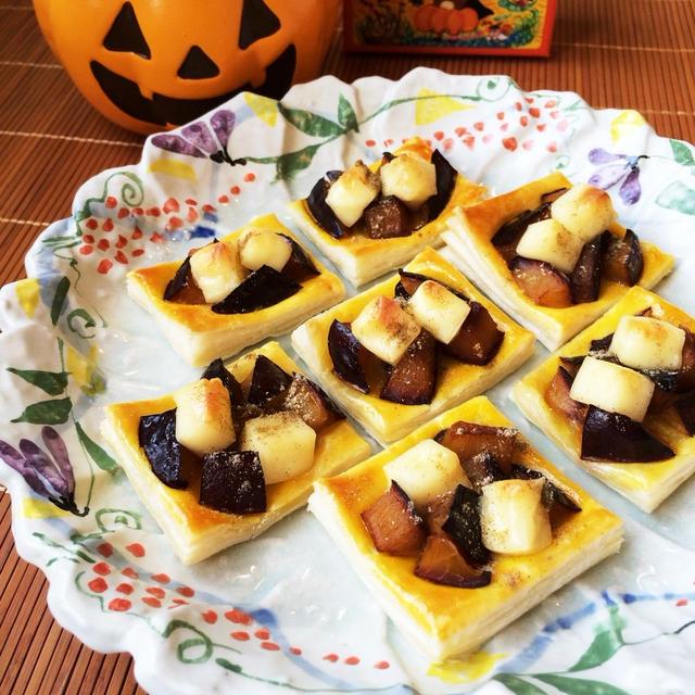 【カルダモン香る♪プルーンとチーズのパイ】