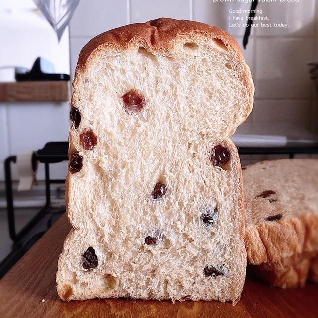 黒糖レーズン食パン・サンドイッチ食パン