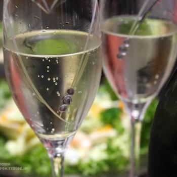 【チリワインの父】オチャガビア・スパークリング・ブリュットでお誕生日のお祝い。