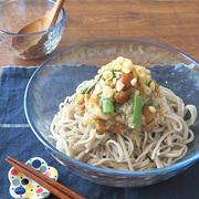 ひんやり食欲UP☆ごま油香る♪山菜たっぷりおろしそば by kaana57さん