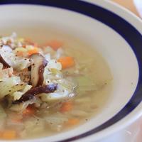 食べる栄養スープ♪キャベツと鶏と根菜の生姜スープ