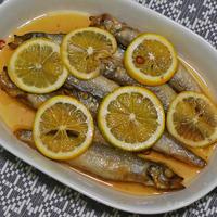 鯵のレモン南蛮とおもてなし料理。