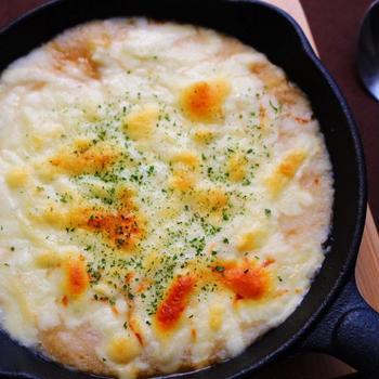 いの一番で作る山芋のチーズ焼き♪
